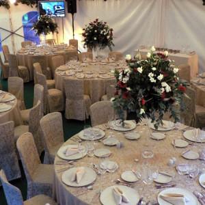 Vybavení svatebního párty stanu od AB Party