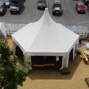 Šestihranná pagoda - party stan od AB Party