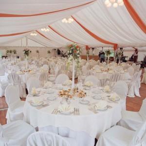 Svatební párty stan od AB Party