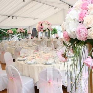 Vybavení svatebního stanu od AB Party