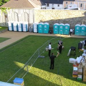 Mobilní WC k párty stanu od AB Party