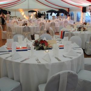 Dekorace a výzdoba párty stanů od AB Party