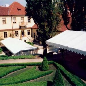 Party tent, 6x12 metres